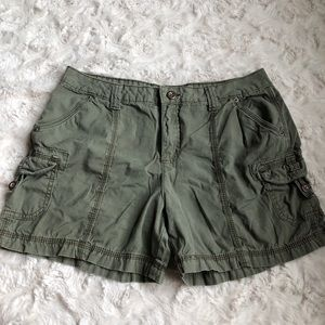 Faded Glory Women's Army Green Shorts